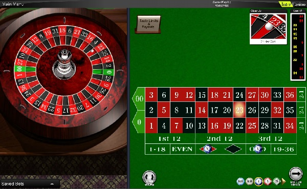 Roulette system 32420